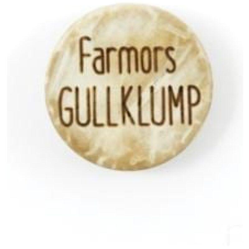 Farmors Gullklump - Treknapp