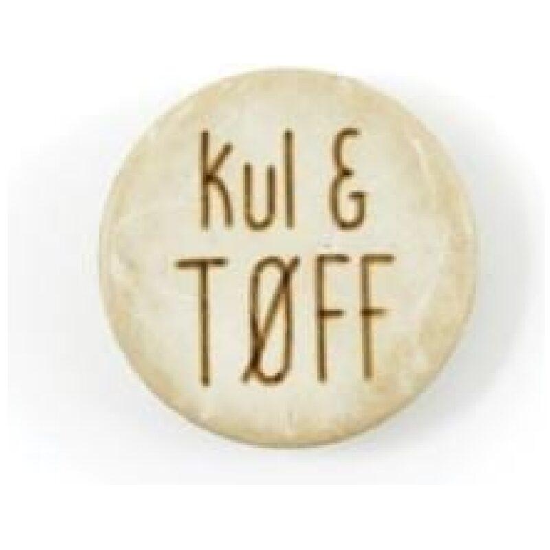 Kul & Tøff - Treknapp