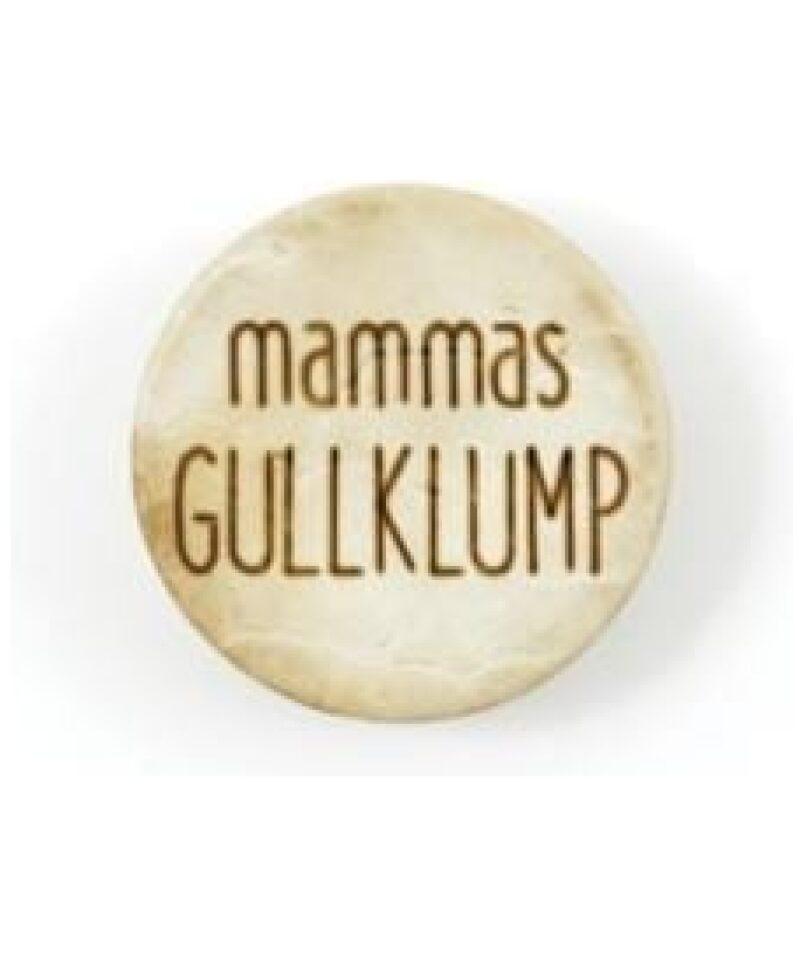 Mammas Gullklump - Treknapp