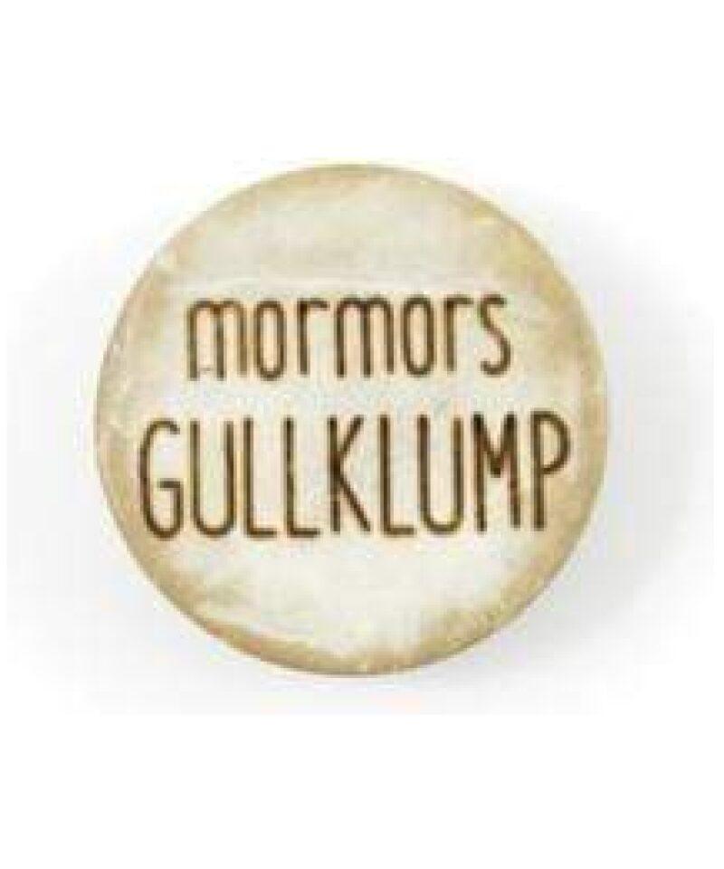 Mormors Gullklump - Treknapp