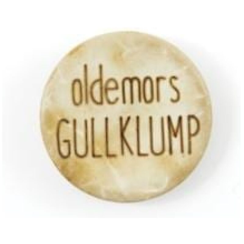Oldemors Gullklump - Treknapp