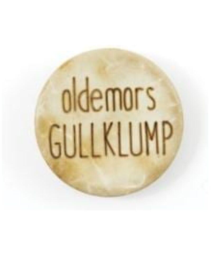 Oldemors Gullklump - Treknapp