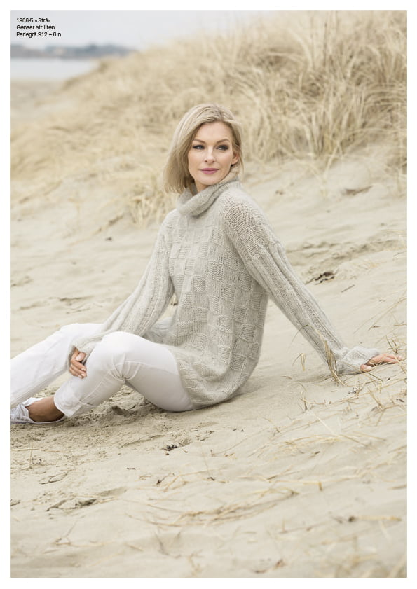 Strå genser