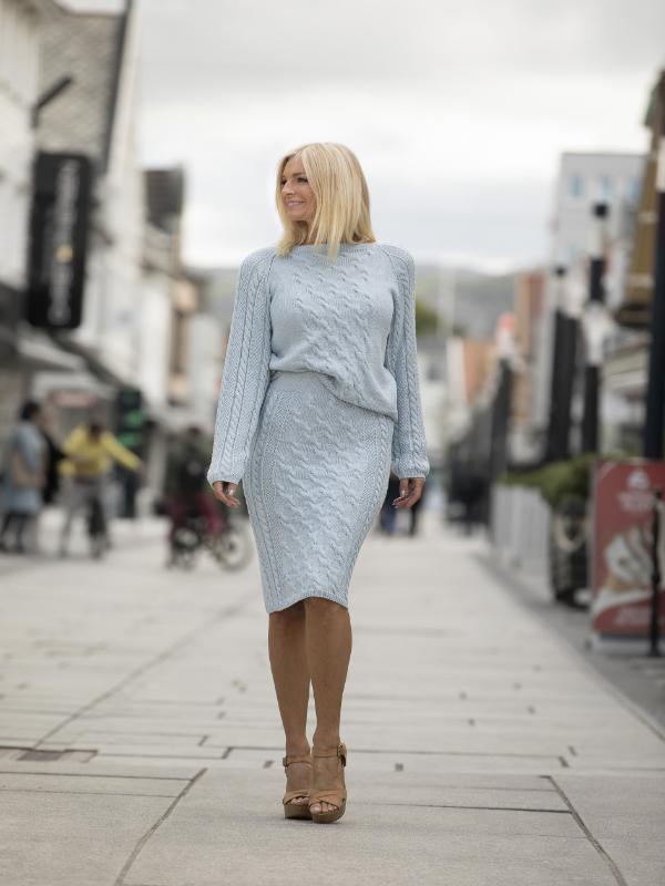 Malene - genser og skjørt