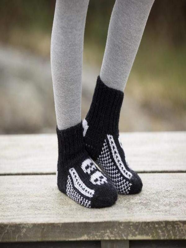 Sokker Mini Skallemann