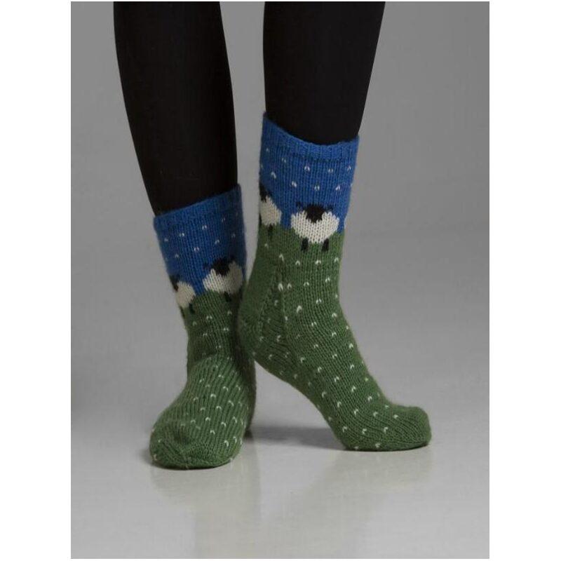 Sokker Sau i hagel